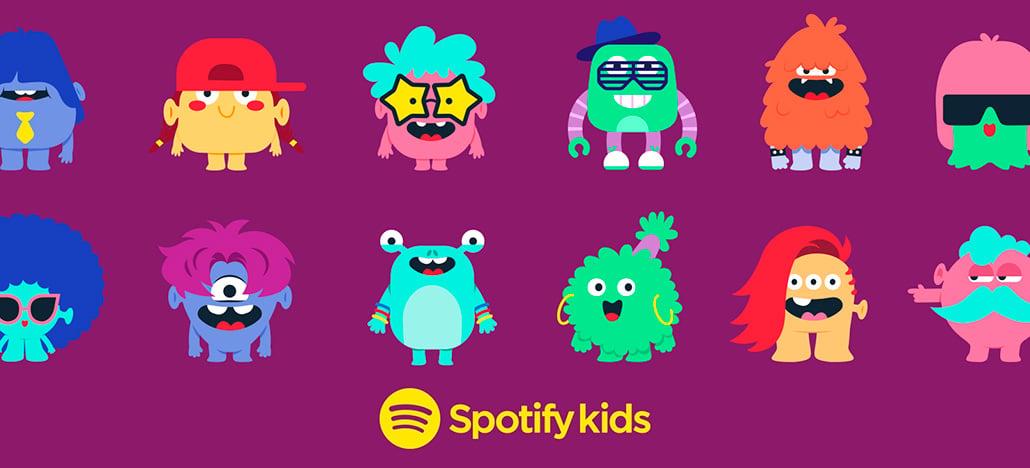 Spotify Kids é o novo aplicativo de músicas voltado ao público infantil