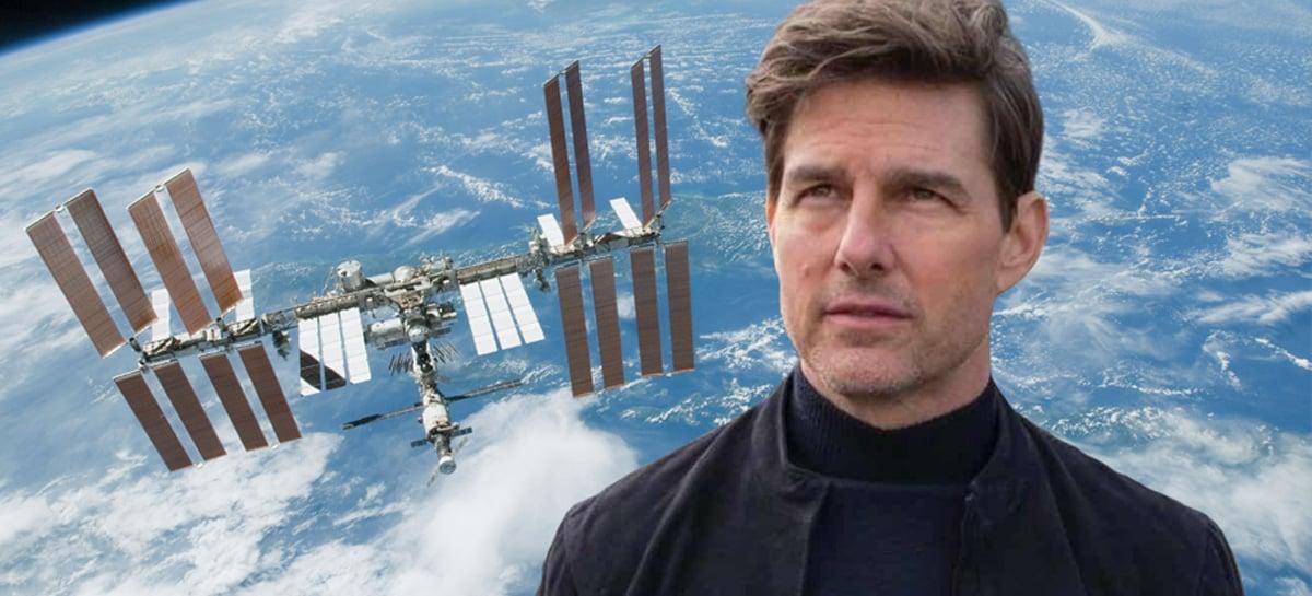 NASA está trabalhando com Tom Cruise para gravar um filme no espaço