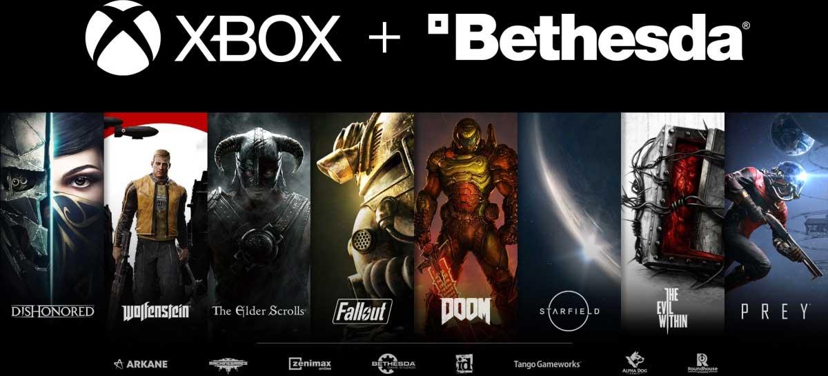 Microsoft surpreende indústria de games ao comprar Bethesda por US$ 7,5 bilhões