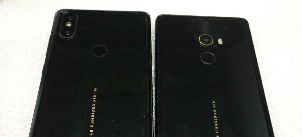 Foto vazada do Xiaomi Mi Mix 2S mostra novo design de câmera dupla