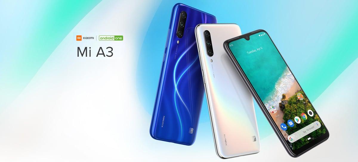 Xiaomi anuncia que o Mi A3 receberá o Android 10 em fevereiro