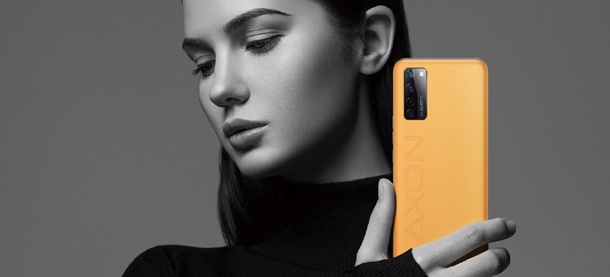 ZTE divulga teaser do smartphone ZTE Axon 20 5G Extreme Edition