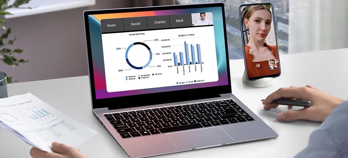 AceBook1 é o novo notebook baratinho da Blackview com processador Intel N4120