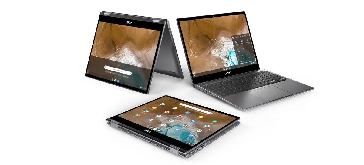 Acer lança Chromebook Spin 713 baseado no projeto Athena da Intel