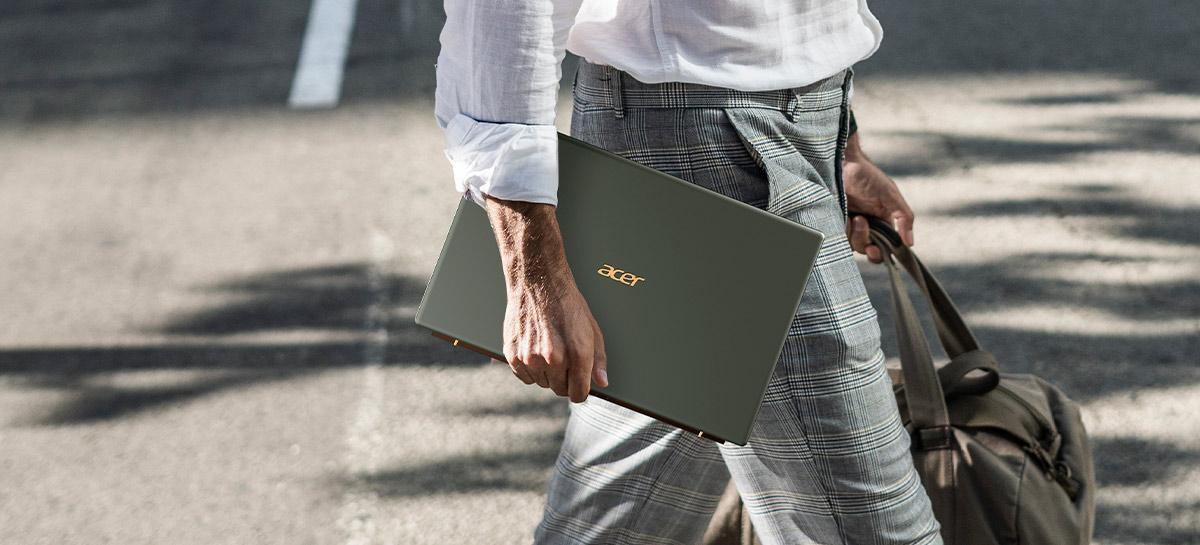 Swift 5: Acer lança notebook com tecnologia antimicrobiana no Brasil
