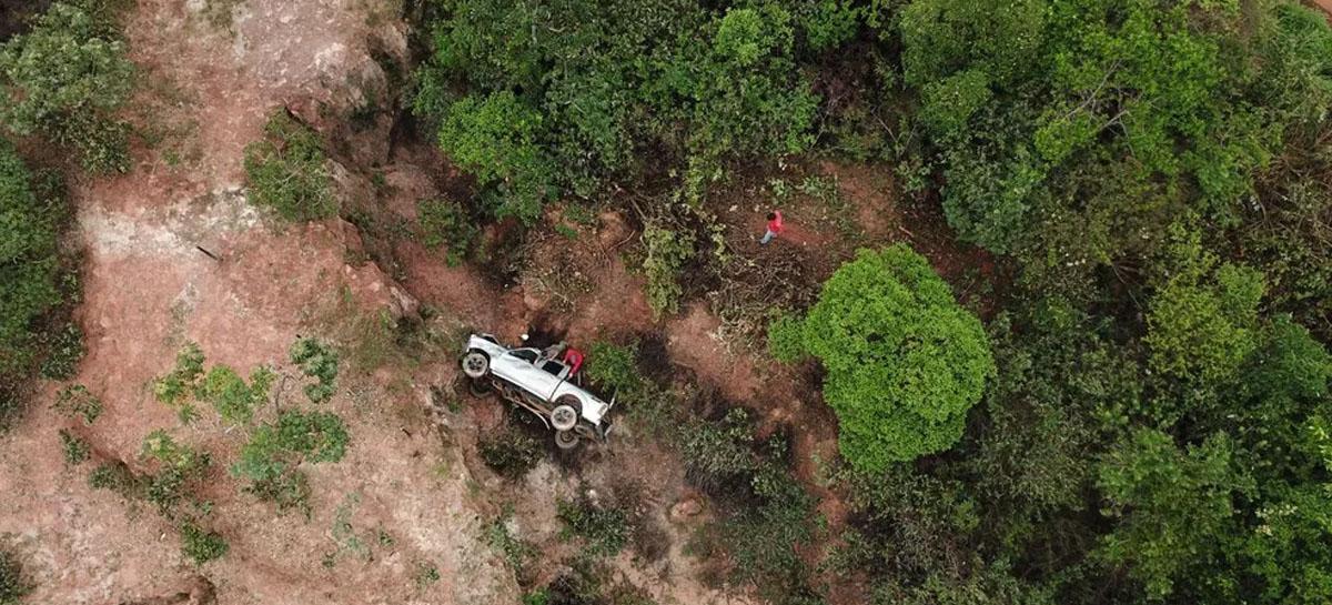 Homem é encontrado por empresa especializada em drones após 40 horas em ribanceira de MG