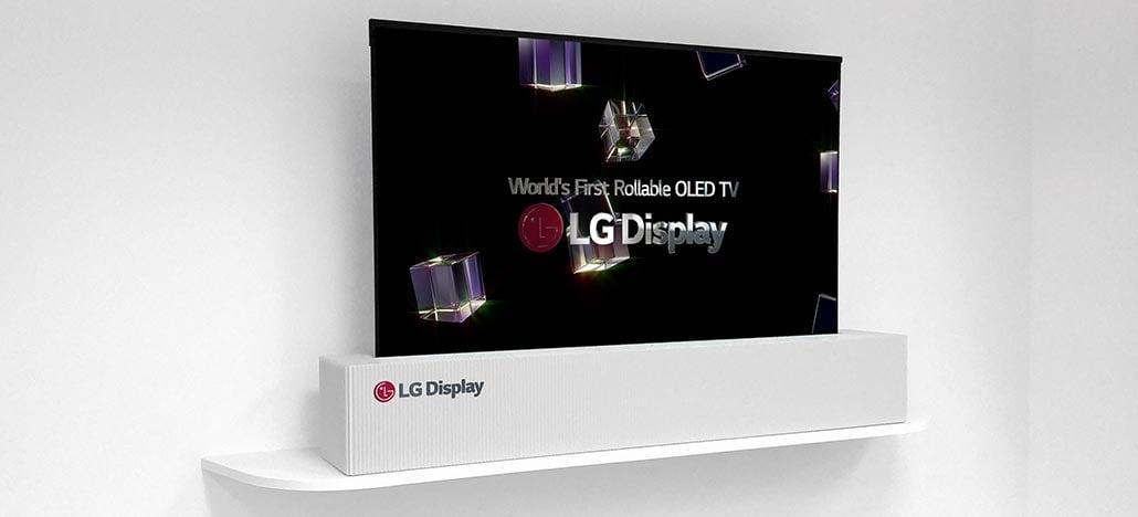 LG apresenta display OLED de 65 polegadas que pode ser enrolado como um jornal