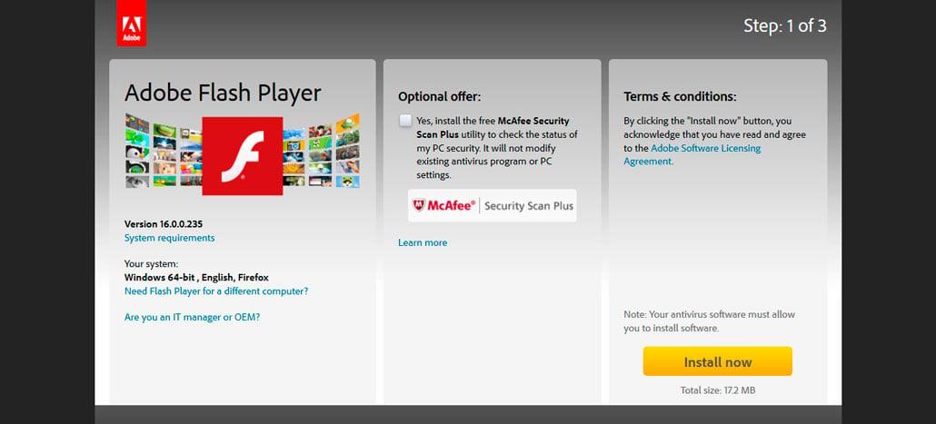 Nova vulnerabilidade crítica é encontrada no Adobe Flash