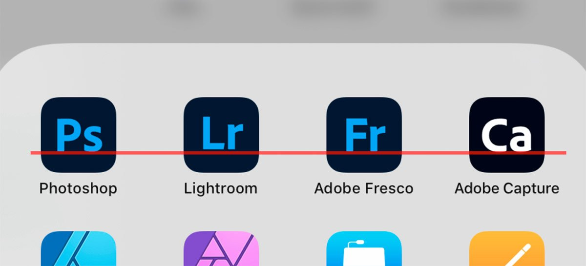 Novas cores nos ícones de apps Adobe desagradam designers e usuários