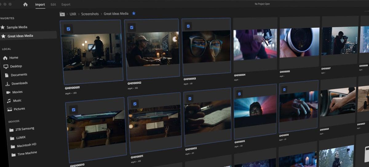 Adobe prepara maior atualização para o Premiere Pro em 30 anos