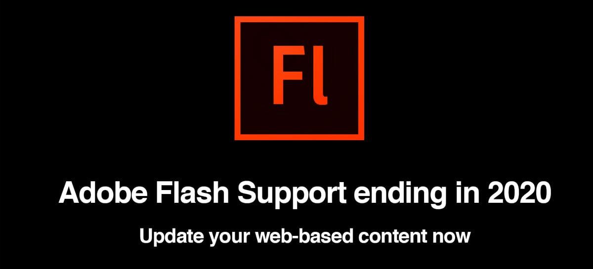 Suporte do Adobe Flash Player ACABOU - Veja o que acontece