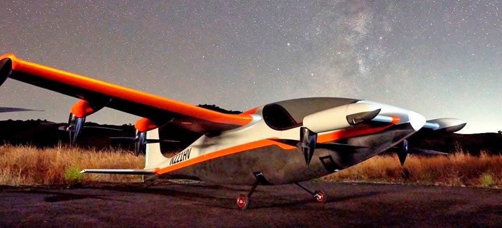 Kitty Hawk apresenta Heaviside, aeronave elétrica ultra silenciosa