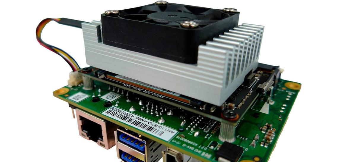 Aetina anuncia computador para trabalhos intensivos de IA com plataforma Nvidia Jetson