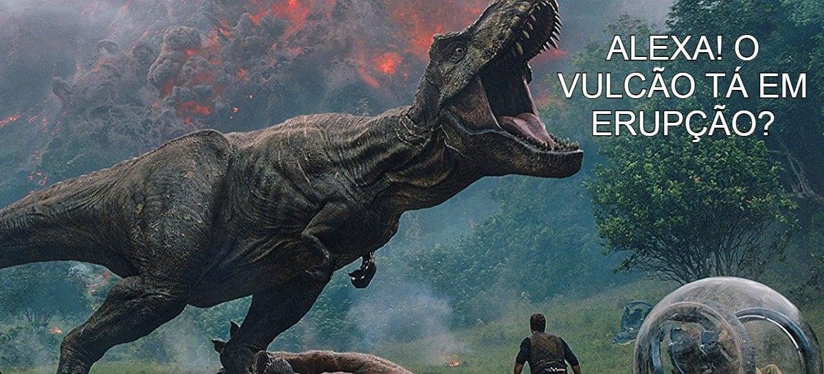 Alexa ganha jogo inspirado no universo de Jurassic Park