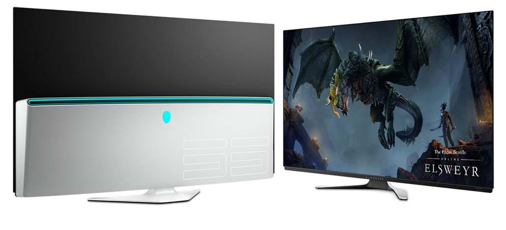 Alienware apresenta poderoso PC R9 e monitor OLED Aurora de 55 polegadas