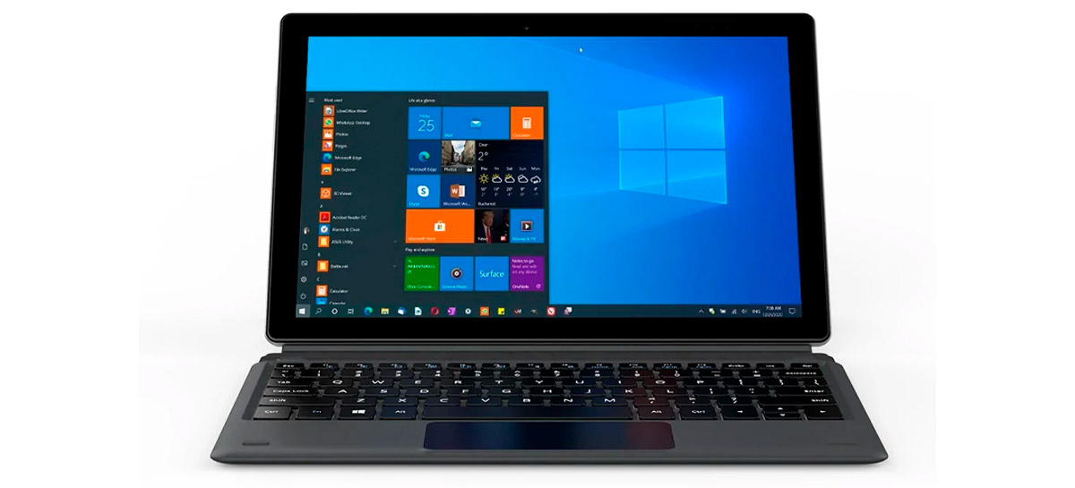 Tablet 2 em 1 Alldocube iWork 20 vem com Windows 10 e teclado removível por menos de 300 dólares
