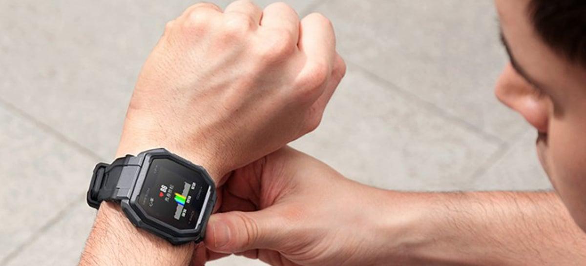 Huami lança smartwatch Amazfit Ares com bateria com autonomia de até duas semanas