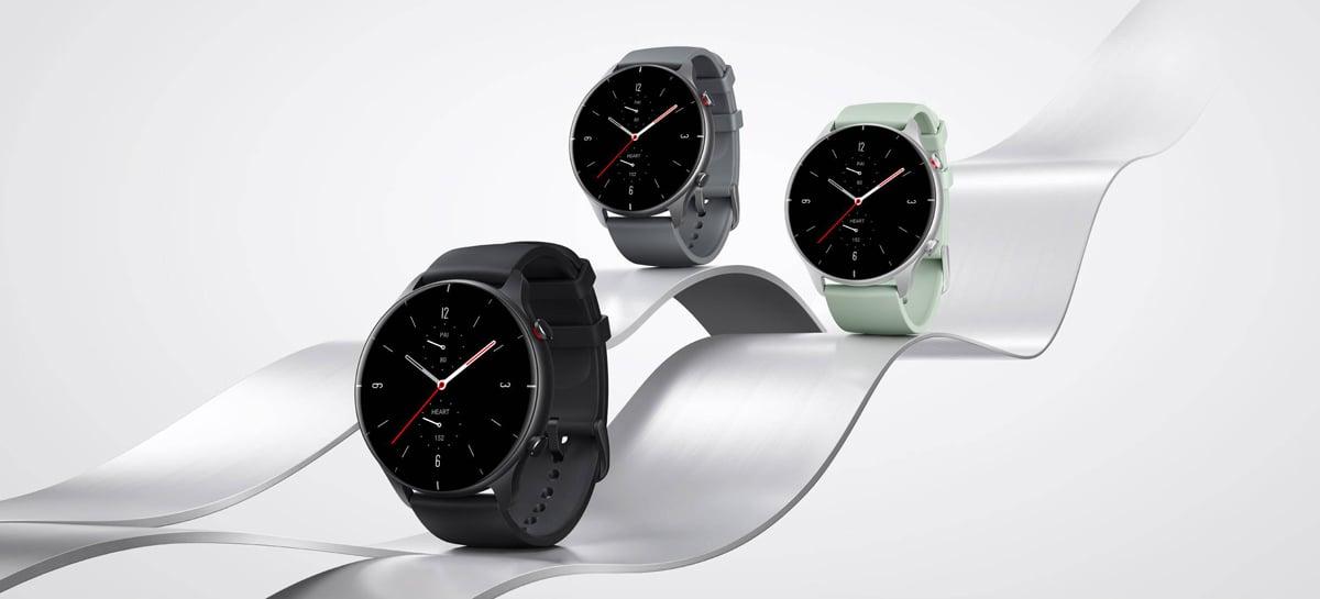 Amazfit GTR 2e e Amazfit GTS 2e são anunciados como alternativas acessíveis ao Apple Watch
