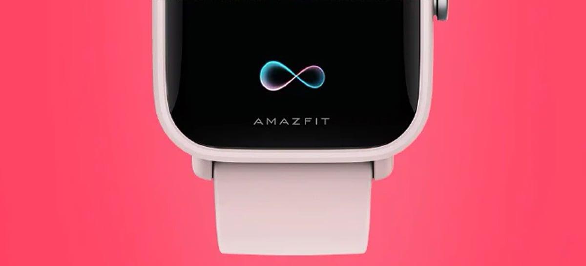 Teaser do Amazfit Pop Pro destaca alguns recursos do novo smartwatch