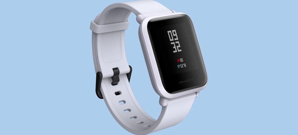 Smartwatch Amazfit Bip da Xiaomi promete manter bateria por 45 dias
