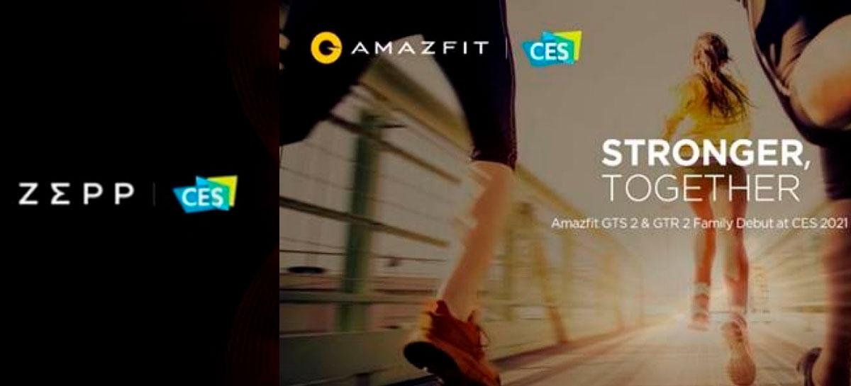 Amazfit e Zepp se preparam para anunciar novidades na CES 2021