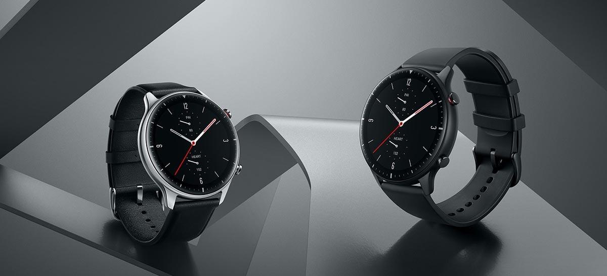 Amazfit revelará seus novos smartwatches GTR 3 e GTS 3 no dia 12 de outubro