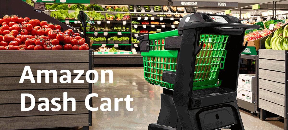 Dash Cart: carrinho de compras inteligente da Amazon sabe o que você está comprando