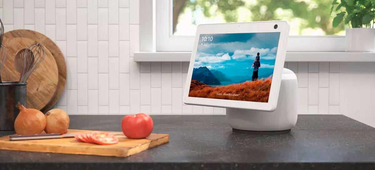 """""""Echo de parede"""" estaria em desenvolvimento pela Amazon"""