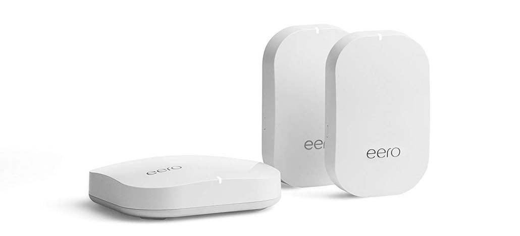 Amazon lança roteador mesh Eero com controles de voz da Alexa