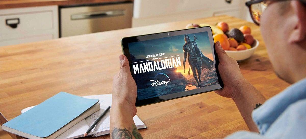 Amazon anuncia Fire HD 10 e Fire HD 10 Plus com mais RAM e novo design