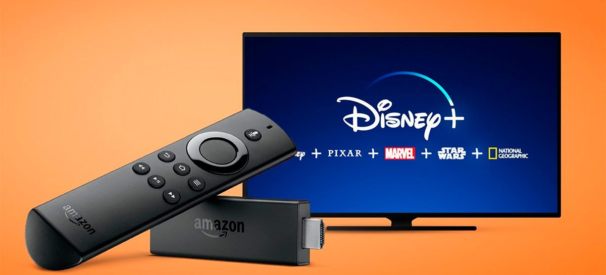 Amazon anuncia que Disney+ já pode ser acessado no Fire TV Stick no Brasil também