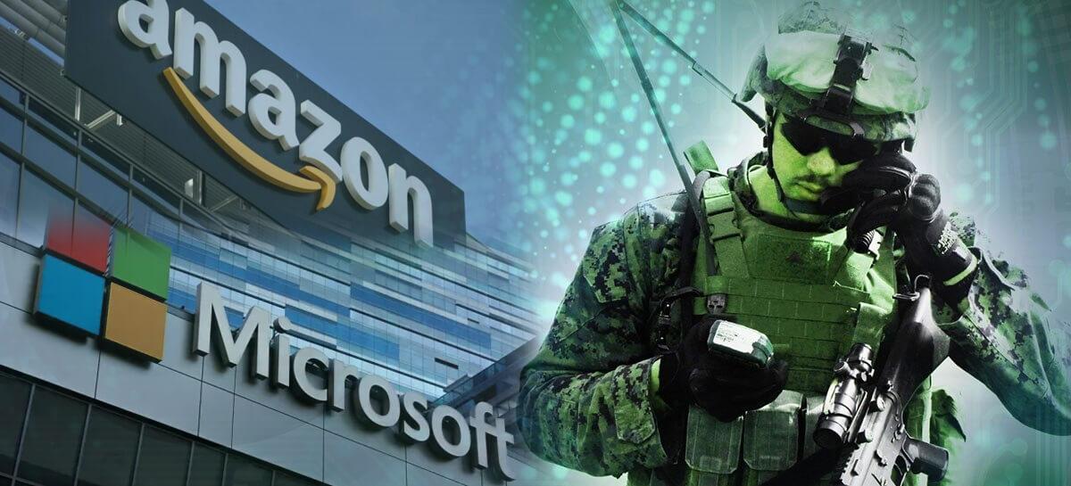 Amazon entra na justiça para pausar negociações do acordo JEDI com a Microsoft