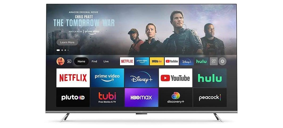 Amazon lança linha própria de TVs com preços abaixo da média
