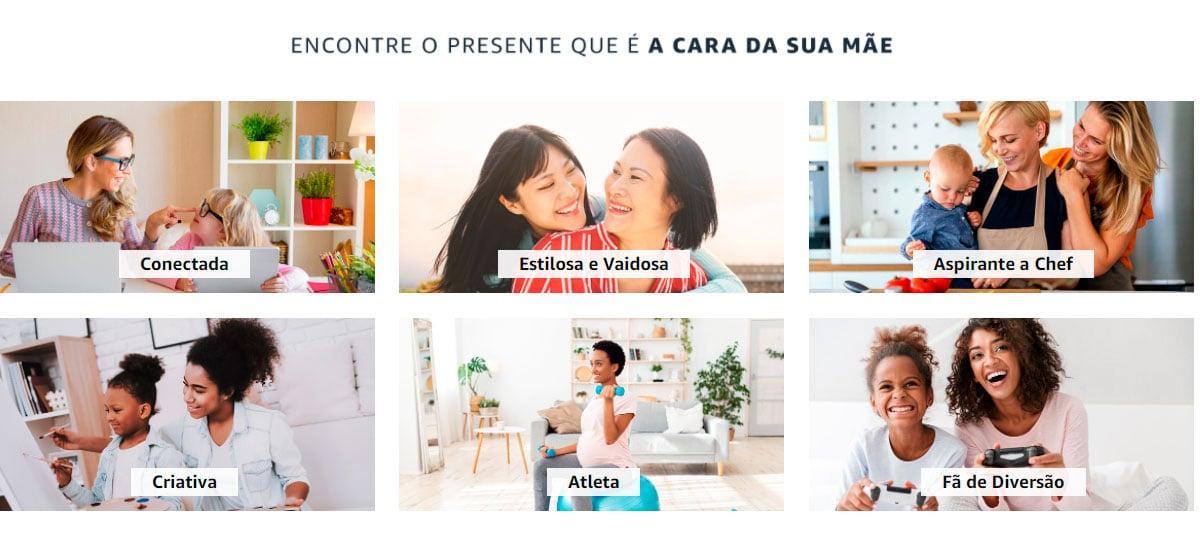 Amazon está com campanha especial de dia das mães com Alexa