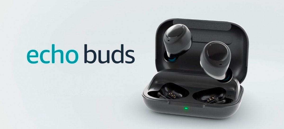 Atualização do Amazon Echo Buds vai permitir rastrear atividades físicas