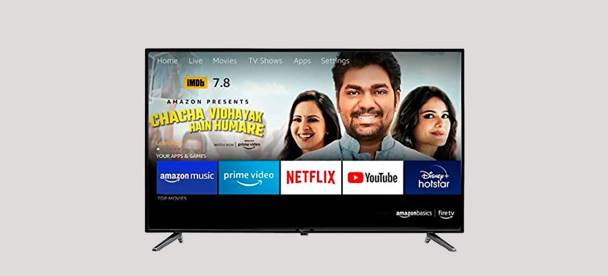 Amazon pode lançar linha própria de TVs com Alexa [RUMOR]