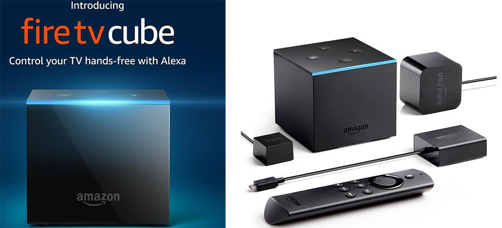 Amazon anuncia Fire TV Cube com controle por voz