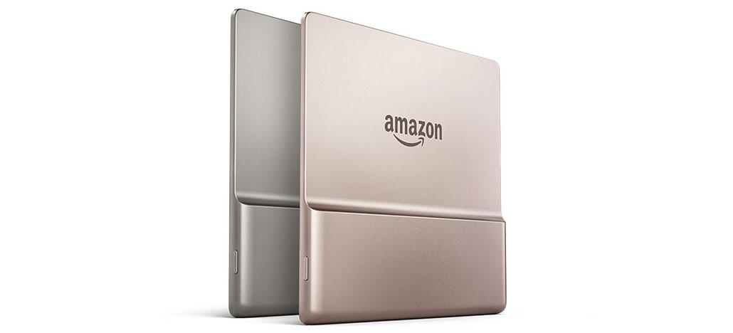 Amazon lança Kindle Oasis em nova cor Champagne Gold