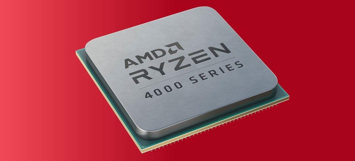 AMD anuncia APUs Ryzen 4000G com até 8 núcleos e GPUs Vega