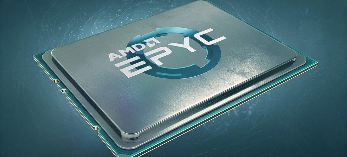 Baseadas em Zen 3, CPUs AMD Epyc Milan teriam até 128 threads e TDP de 280W