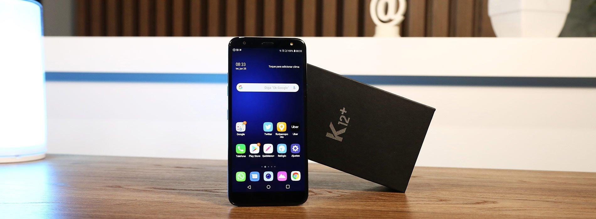 Análise do LG K12+: Celular competente pra quem procura um aparelho