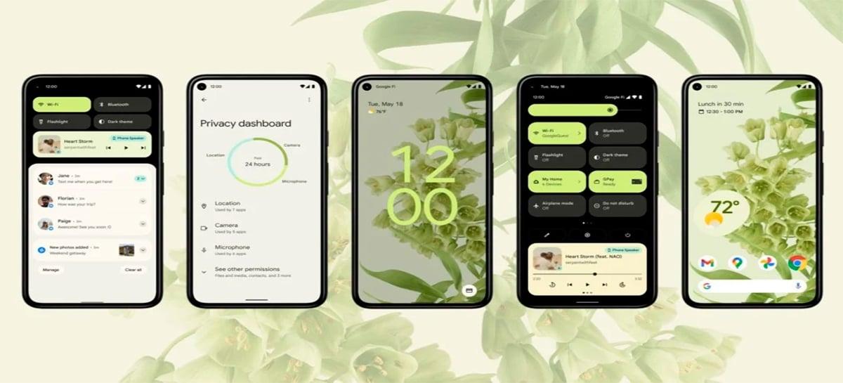 Android 12 é lançado e smartphones pixel recebem nova versão do SO