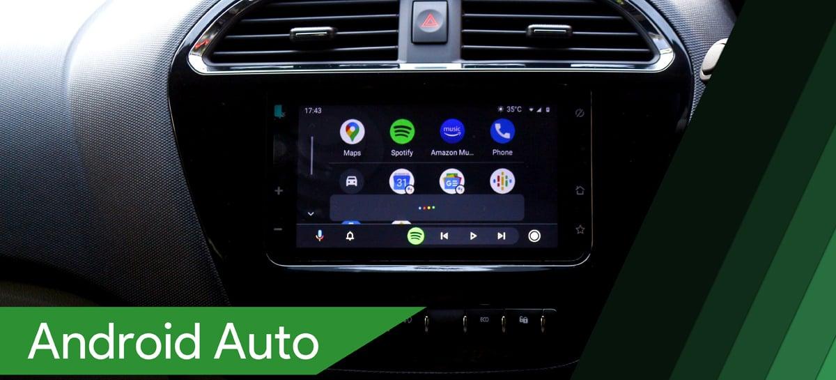 Android Auto suportará mais aplicativos de navegação e estacionamento digital em breve
