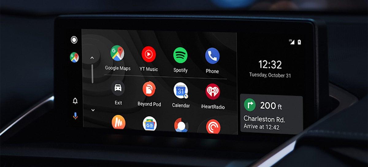 Google libera mais categorias para aplicativos de terceiros no Android Auto
