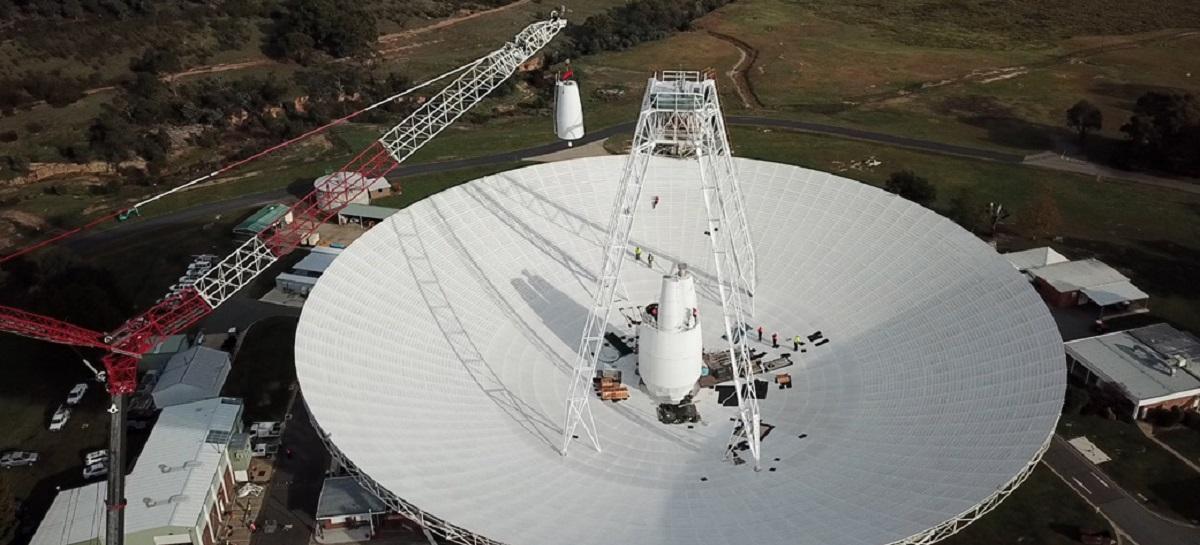 NASA otimiza uma de suas maiores antenas para comandar módulos e naves distantes