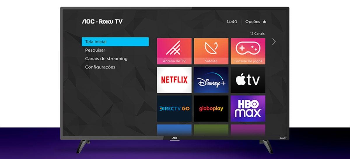 HBO Max tem aplicativo lançado para a AOC Roku TV