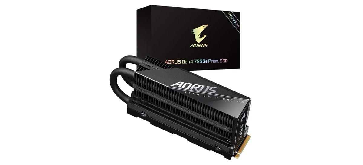 Gigabyte anuncia SSD AORUS Gen4 7000s Premium com velocidades de até 7.000MB/s