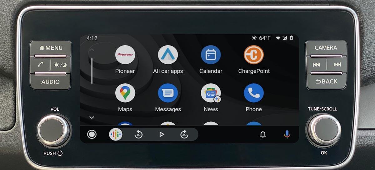 Aplicativo da ChargePoint para Android Auto localizará postos de recarga