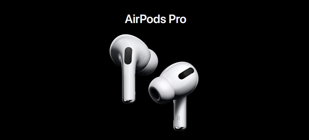 AirPods Pro já estão disponíveis no Brasil