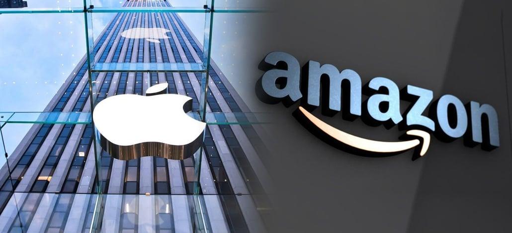 Apple ainda é a marca mais valiosa do mundo, mas Amazon teve o maior crescimento de novo